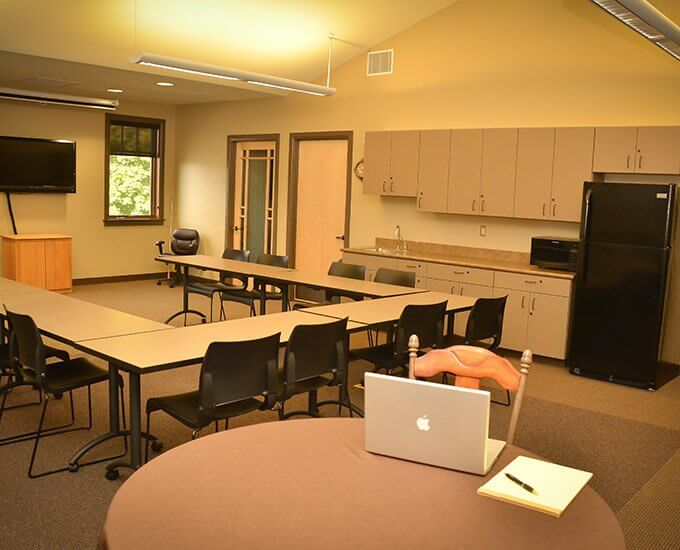 Our state-of-the-art conference room